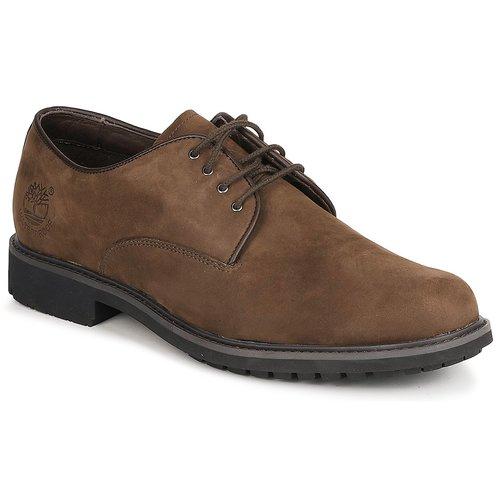 kengät Miehet Derby-kengät Timberland EK STORMBUCK PLAIN TOE OXFORD Ruskea