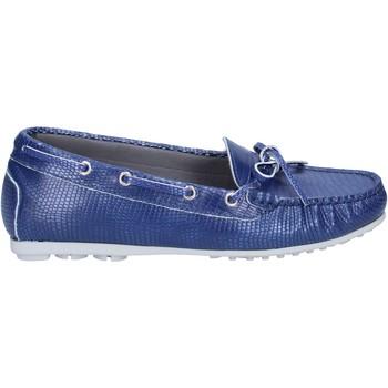 kengät Naiset Mokkasiinit K852 & Son mocassini blu pelle BT933 Blu
