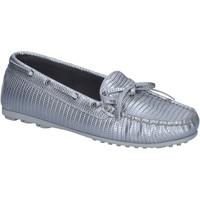 kengät Naiset Mokkasiinit K852 & Son mocassini argento pelle BT934 Argento