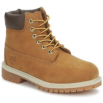 kengät Lapset Bootsit Timberland 6 IN PREMIUM WP BOOT Musta /Musta / Hunaja