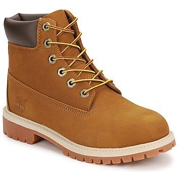 kengät Lapset Bootsit Timberland 6 IN PREMIUM WP BOOT Brown / Hunaja