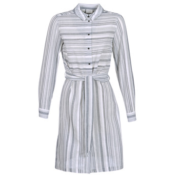 vaatteet Naiset Lyhyt mekko Vila VINAVIDA White / Blue