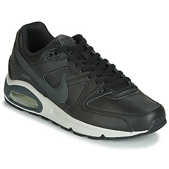 kengät Miehet Matalavartiset tennarit Nike AIR MAX COMMAND LEATHER Black