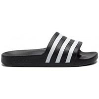 kengät Sandaalit adidas Originals Adilette Aqua Mustat