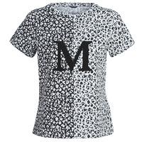 vaatteet Naiset Lyhythihainen t-paita Marciano RUNNING WILD Black / White