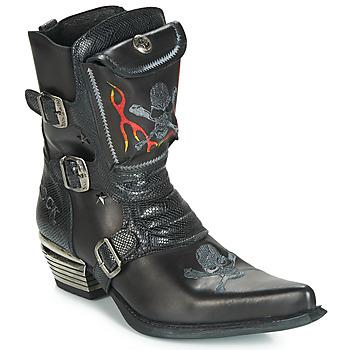 kengät Miehet Saappaat New Rock M-WST024-S3 Black