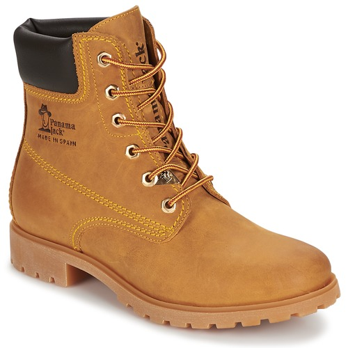 kengät Naiset Bootsit Panama Jack PANAMA Yellow