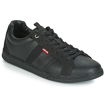 kengät Miehet Matalavartiset tennarit Levi's TULARE Black