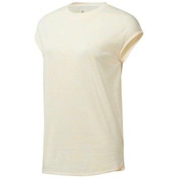 vaatteet Naiset Lyhythihainen t-paita Reebok Sport EL Marble Tee Beesit
