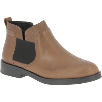 kengät Naiset Bootsit Nikolas 182R-TAMNA marrone