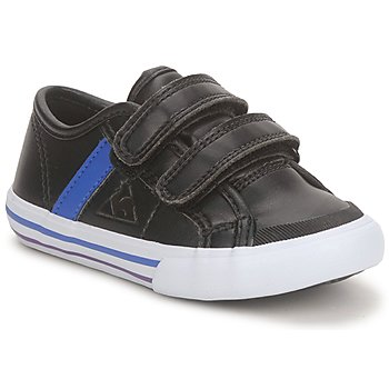 kengät Pojat Matalavartiset tennarit Le Coq Sportif SAINT MALO Musta / Sininen