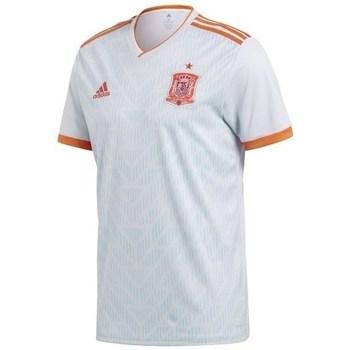 vaatteet Miehet Lyhythihainen t-paita adidas Originals Spain Away Jersey Replica Valkoiset