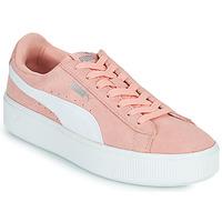 kengät Naiset Matalavartiset tennarit Puma VIKKY STACK PEA Vaaleanpunainen