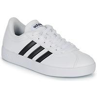 kengät Lapset Matalavartiset tennarit adidas Originals VL COURT K BLC White