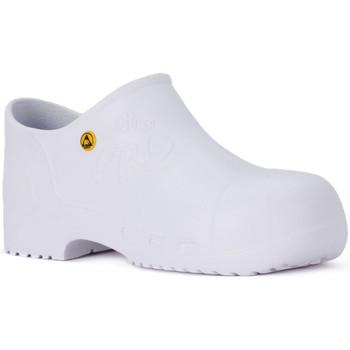 kengät Työ ja turvakengät Calzuro PRO SAFETY BIANCO Bianco