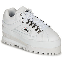 kengät Naiset Matalavartiset tennarit Fila TRAILBLAZER WEDGE WMN White