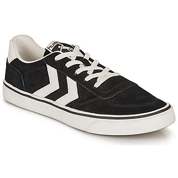 kengät Matalavartiset tennarit Hummel STADIL 3.0 SUEDE Black / White