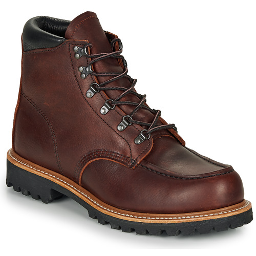 kengät Miehet Bootsit Red Wing SAWMILL Brown