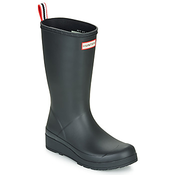 kengät Naiset Kumisaappaat Hunter ORIGINAL PLAY BOOT TALL Black