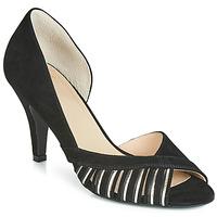 kengät Naiset Korkokengät Bocage DELAWARE Black