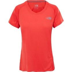 vaatteet Naiset Lyhythihainen t-paita The North Face Tshirt Ambition Oranssin väriset