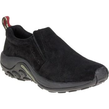kengät Miehet Urheilukengät Merrell Jungle Moc Mustat