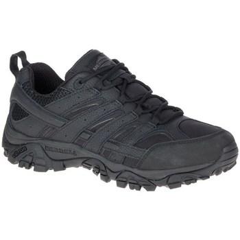 kengät Miehet Vaelluskengät Merrell Moab 2 Tactical Mustat