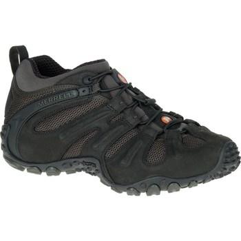 kengät Miehet Vaelluskengät Merrell Chameleon II Stretch Mustat,Grafiitin väriset
