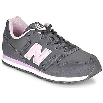 kengät Tytöt Matalavartiset tennarit New Balance 373 Grey / Pink