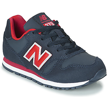 kengät Pojat Matalavartiset tennarit New Balance 373 Blue / Red