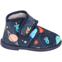 kengät Pojat Tossut Blaike pantofole blu tessuto BS50 Blu