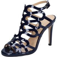 kengät Naiset Sandaalit ja avokkaat Olga Rubini sandali blu vernice BS91 Blu