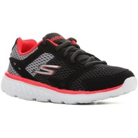 kengät Lapset Juoksukengät / Trail-kengät Skechers Go Run 400 97681L-BGRD black, red, grey