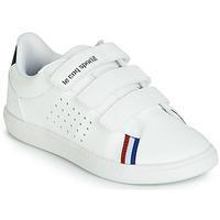 kengät Lapset Matalavartiset tennarit Le Coq Sportif COURTSTAR PS SPORT BBR White