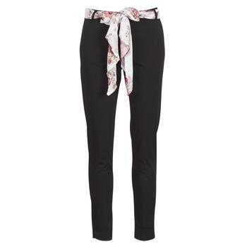 vaatteet Naiset 5-taskuiset housut Casual Attitude JIYOO Black