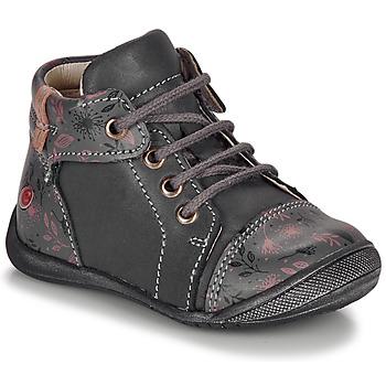 kengät Tytöt Bootsit GBB OLSA Grey / Pink