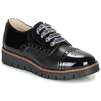 kengät Tytöt Derby-kengät Catimini COXINELA Black