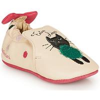 kengät Tytöt Tossut Catimini CALICETTE Beige / Pink