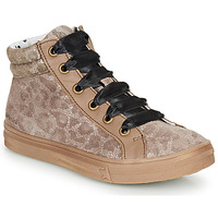 kengät Tytöt Korkeavartiset tennarit Catimini CALENDULE Leopardi