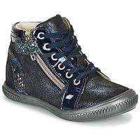 kengät Tytöt Korkeavartiset tennarit GBB RACHIDA Blue