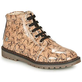 kengät Tytöt Bootsit GBB NAREA Pink / Black