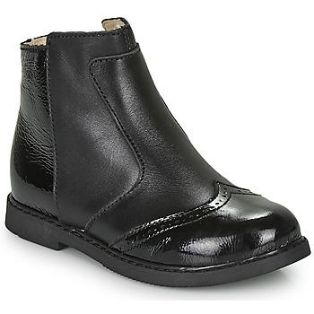 kengät Tytöt Bootsit GBB OURIETTE Musta
