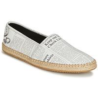 kengät Miehet Espadrillot John Galliano 6715 Valkoinen