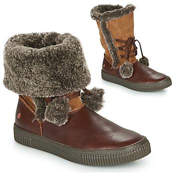 kengät Tytöt Bootsit GBB NOUSTIK Brown