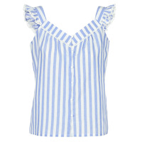 vaatteet Naiset Topit / Puserot Betty London KOUDEI Blue / White