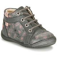 kengät Tytöt Bootsit GBB OMANE Harmaa / Vaaleanpunainen