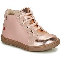 kengät Tytöt Korkeavartiset tennarit GBB FAMIA Vaaleanpunainen
