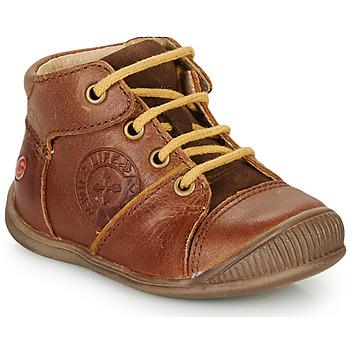 kengät Pojat Bootsit GBB OULOU Brown / Cognac