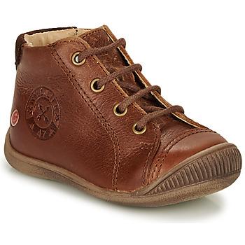 kengät Pojat Bootsit GBB NOE Brown