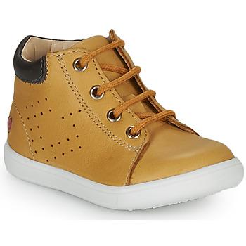 kengät Pojat Korkeavartiset tennarit GBB FOLLIO Yellow
